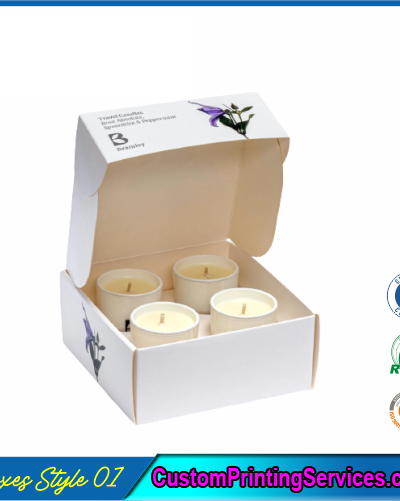 Jar Candle Boxes