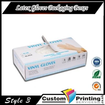 Latex Gloves Packaging Boxes Printing