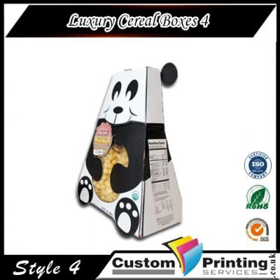 Luxury Cereal Boxes Printing