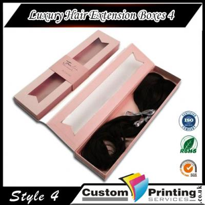 Luxury Hair Extension Boxes Printing