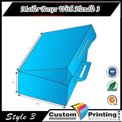 Mailer Boxes With Handle Printing