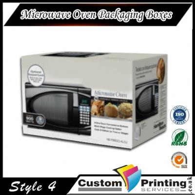 Microwave Oven Packaging Boxes Printing