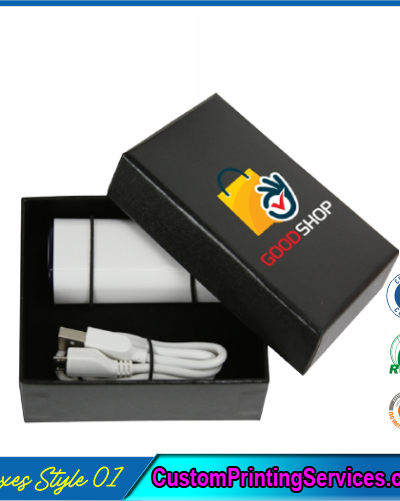Mobile Charger Packaging Boxes