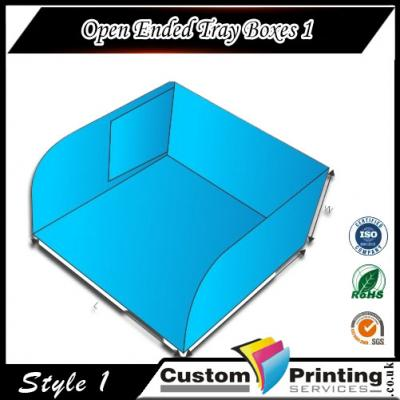 Open Ended Tray Boxes Printing