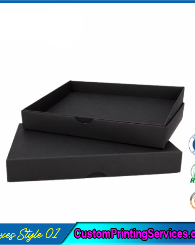 Pack of 100 Black Small Gift Boxes