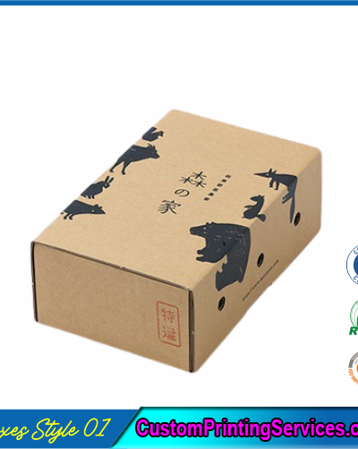 Pack of 100 Small Shipping Boxes with Lid