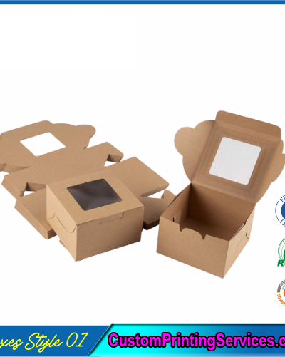 Packaging Boxes with Window