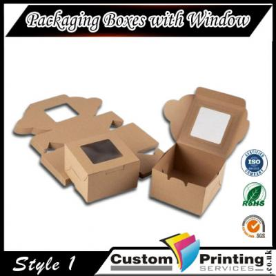 Packaging Boxes with Window Printing