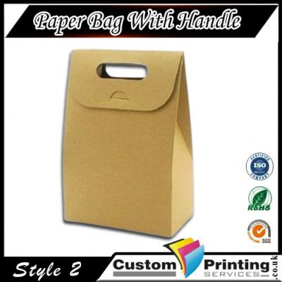 Paper Bag With Handle Printing