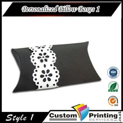 Personalized Pillow Boxes Printing