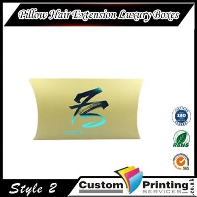 Pillow Hair Extension Luxury Boxes Printing