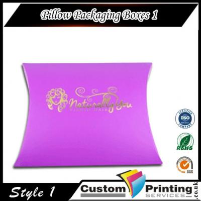 Pillow Packaging Boxes Printing