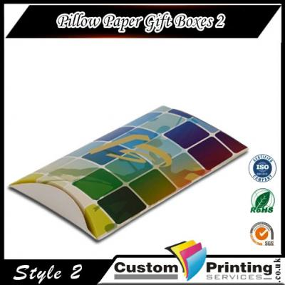 Pillow Paper Gift Boxes Printing