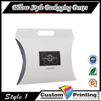 Pillow Style Packaging Boxes Printing