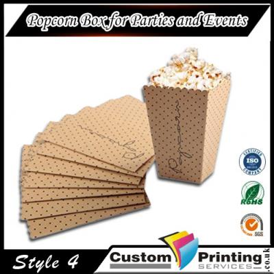 Popcorn Boxes for Parties and Events Printing