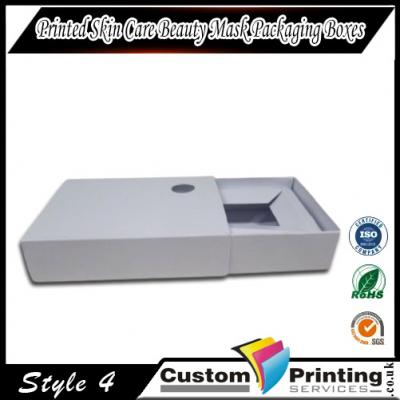 Printed Skin Care Beauty Mask Packaging Boxes Printing