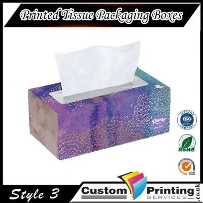 Printed Tissue Packaging Boxes Printing