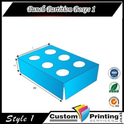 Punch Partition Boxes Printing