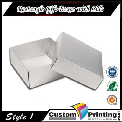 Rectangle Gift Boxes with Lids Printing