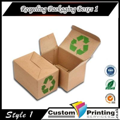 Recycling Packaging Boxes Printing