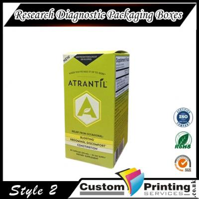 Research Diagnostic Packaging Boxes Printing
