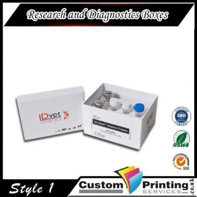 Research and Diagnostics Boxes Printing