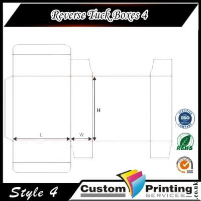 Reverse Tuck Boxes Printing