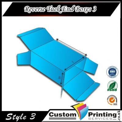 Reverse Tuck End Boxes Printing