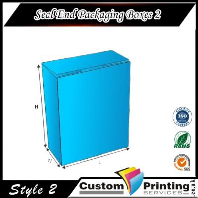Seal End Packaging Boxes Printing