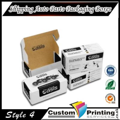 Shipping Auto Parts Packaging Boxes Printing