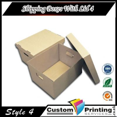 Shipping Boxes With Lid Printing