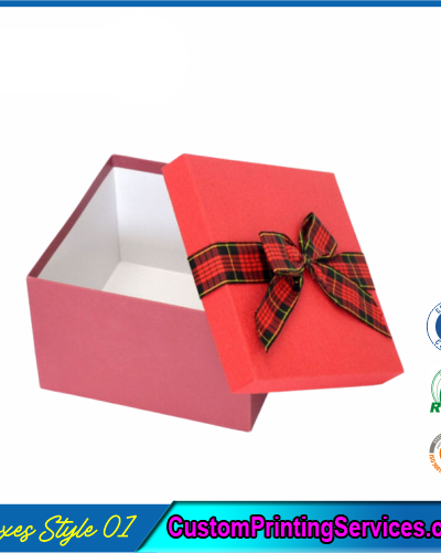 Simple Lidded Gift Boxes