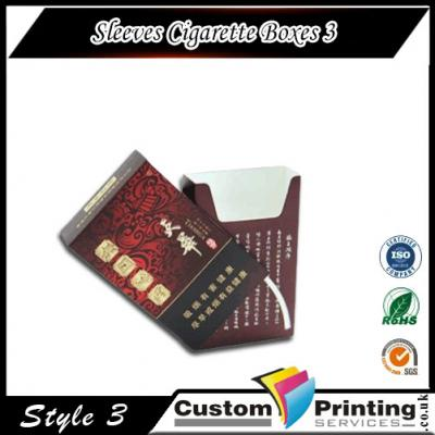 Sleeves Cigarette Boxes Printing