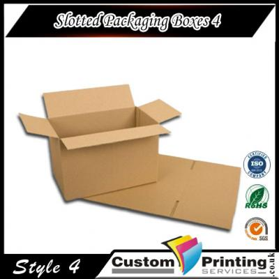 Slotted Packaging Boxes Printing