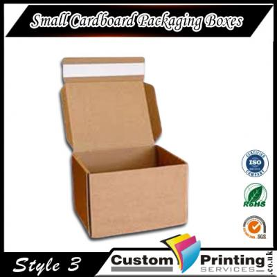 Small Cardboard Packaging Boxes Printing