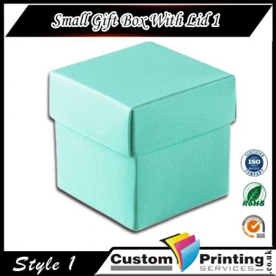 Small Gift Box With Lid Printing