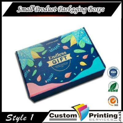 Small Product Packaging Boxes Printing