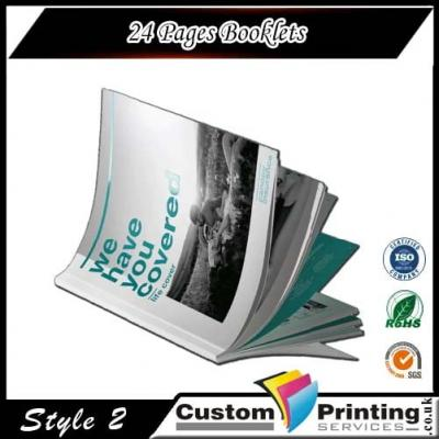 24 Pages Booklets Printing