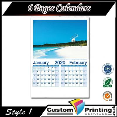 6 Pages Calendars 1