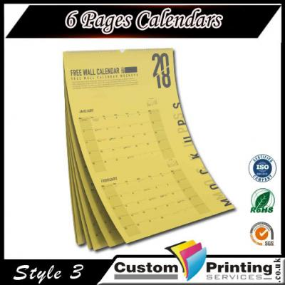 6 Pages Calendars 3