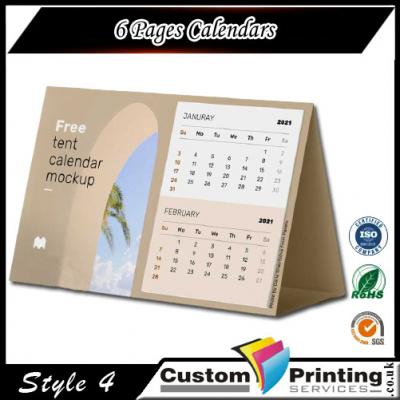 6 Pages Calendars 4
