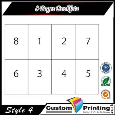 8 Pages Booklets Printing