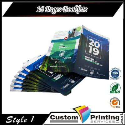 16 Pages Booklets Printing
