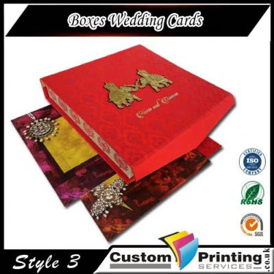Boxes Wedding Cards
