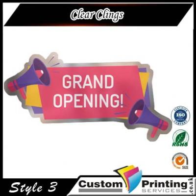 Clear Clings Printing