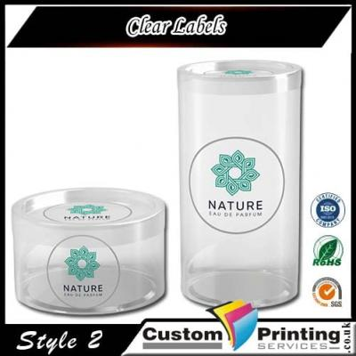 Clear Labe Printing