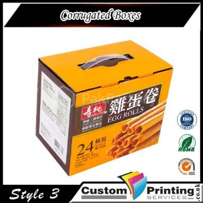 Corrugated Boxes Printing