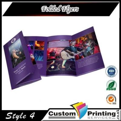 Folded Flyers Printing