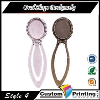 Oval Shape Bookmarks Printing