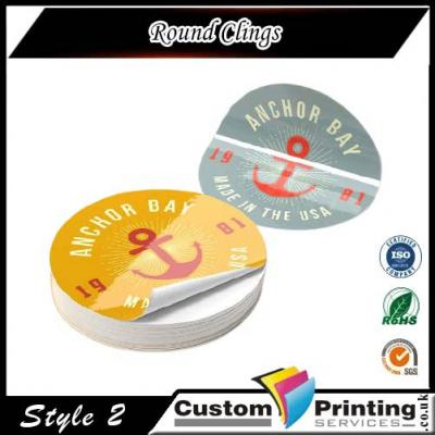 Round Clings Printing